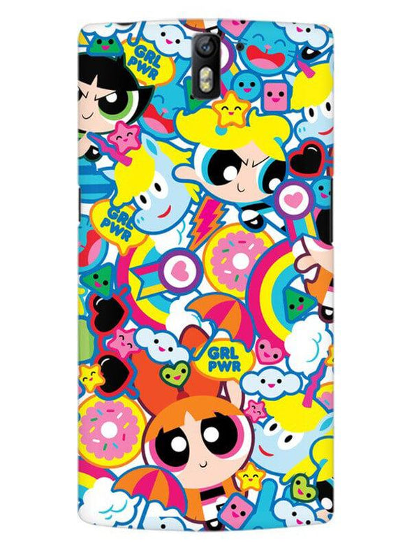 Girl Power Mobile Cover for OnePlus One