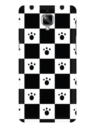 Paw Checkers Mobile Cover for OnePlus 3