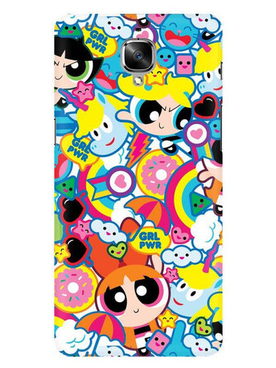 Girl Power Mobile Cover for OnePlus 3