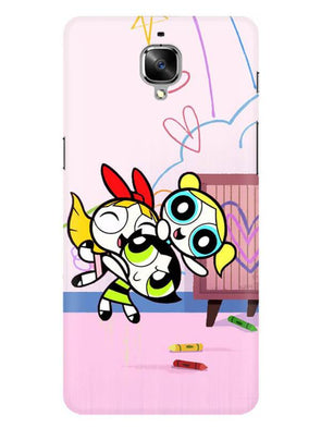 Powerpuff Girls Mobile Cover for OnePlus 3