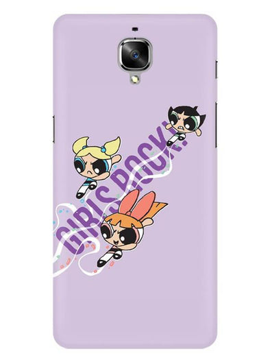 Girls Rocks Mobile Cover for OnePlus 3
