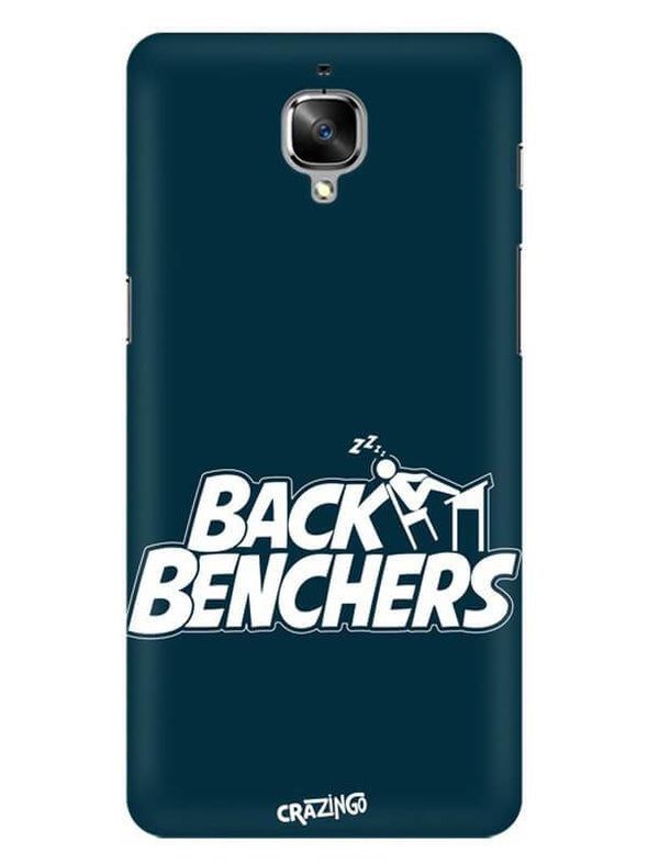 Back Benchers Mobile Cover for OnePlus 3