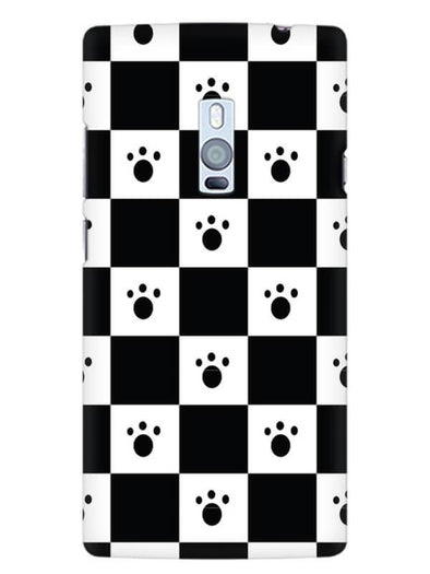 Paw Checkers Mobile Cover for OnePlus 2
