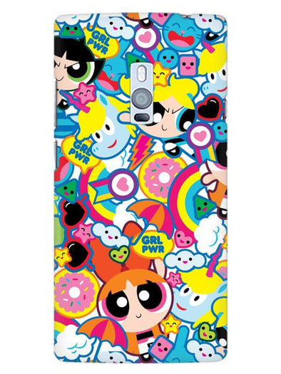 Girl Power Mobile Cover for OnePlus 2