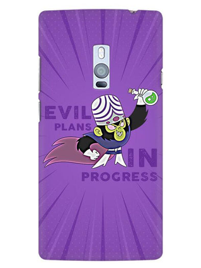Evil Plan Mojojojo Mobile Cover for OnePlus 2