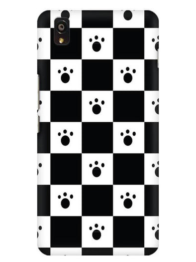 Paw Checkers Mobile Cover for OnePlus X