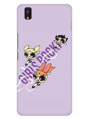 Girls Rocks Mobile Cover for OnePlus X
