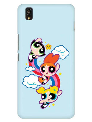 Girls Fun Mobile Cover for OnePlus X