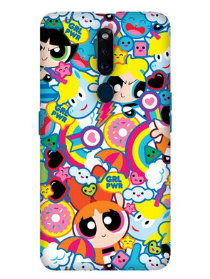 Girl Power Mobile Cover for Oppo F11 Pro
