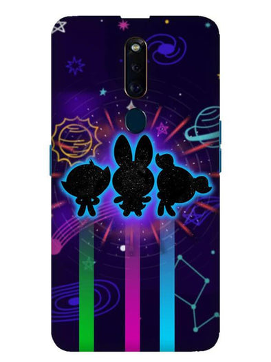Glow Girls Mobile Cover for Oppo F11 Pro