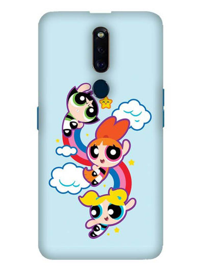 Girls Fun Mobile Cover for Oppo F11 Pro