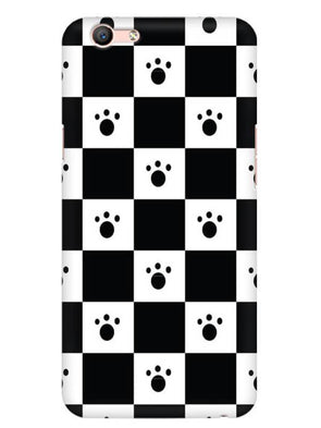 Paw Checkers Mobile Cover for Oppo F1 S