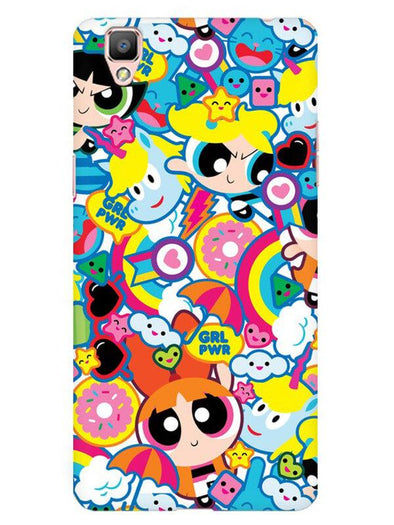 Girl Power Mobile Cover for Oppo F1 Plus