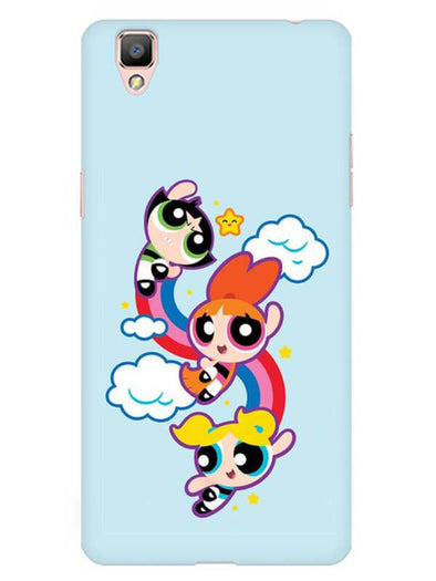 Girls Fun Mobile Cover for Oppo F1 Plus