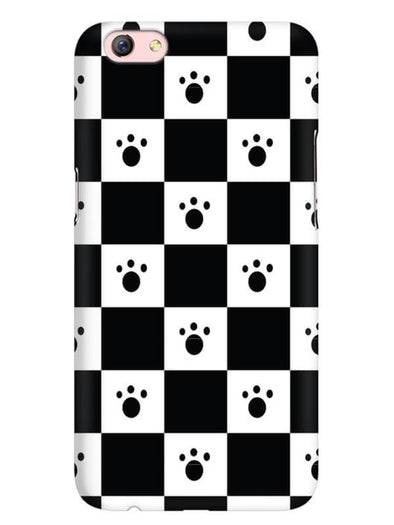 Paw Checkers Mobile Cover for Oppo F3 Plus