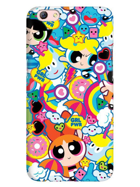 Girl Power Mobile Cover for Oppo F3 Plus