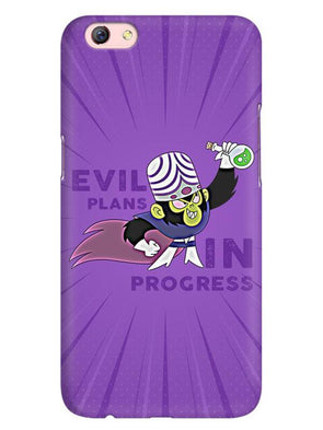Evil Plan Mojojojo Mobile Cover for Oppo F3 Plus