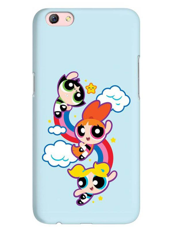 Girls Fun Mobile Cover for Oppo F3 Plus