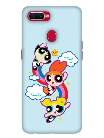 Girls Fun Mobile Cover for Oppo F9