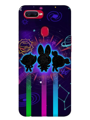 Glow Girls Mobile Cover for Oppo F9 Pro