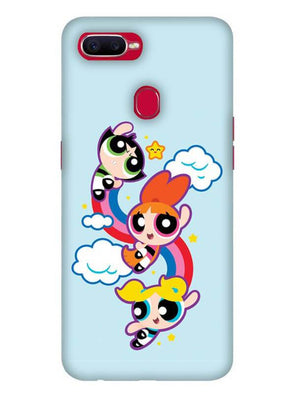 Girls Fun Mobile Cover for Oppo F9 Pro