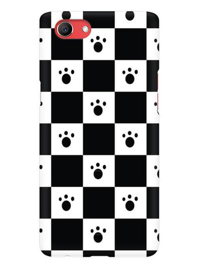 Paw Checkers Mobile Cover for Oppo Realme 1