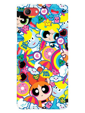 Girl Power Mobile Cover for Oppo Realme 1