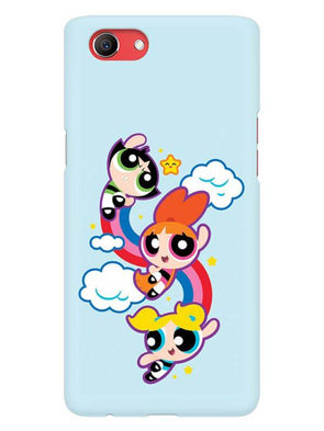 Girls Fun Mobile Cover for Oppo Realme 1
