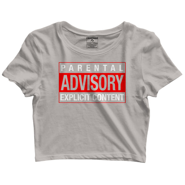 Parental Advisory Crop Tops