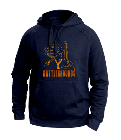 PUBG Blue Hoodies