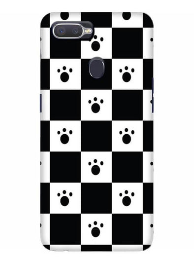 Paw Checkers Mobile Cover for Oppo Realme 2