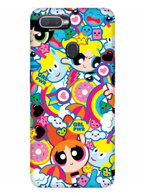Girl Power Mobile Cover for Oppo Realme 2