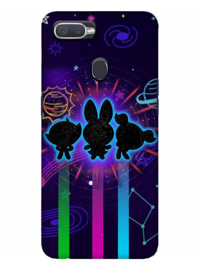 Glow Girls Mobile Cover for Oppo Realme 2