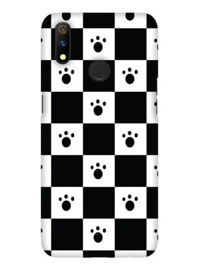 Paw Checkers Mobile Cover for Oppo Realme 3