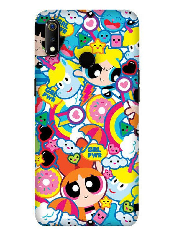 Girl Power Mobile Cover for Oppo Realme 3 Pro