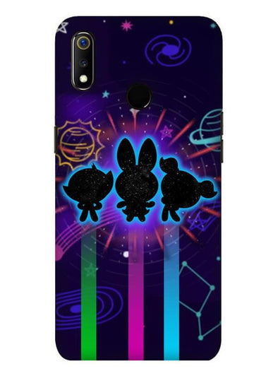 Glow Girls Mobile Cover for Oppo Realme 3 Pro