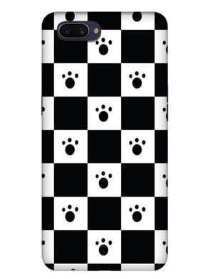 Paw Checkers Mobile Cover for Oppo Realme C1