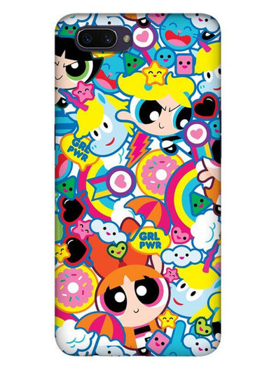 Girl Power Mobile Cover for Oppo Realme C1