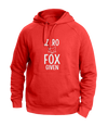 Zero Fox Given Red Hoodies