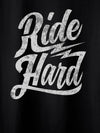 Ride Hard Black T-Shirts