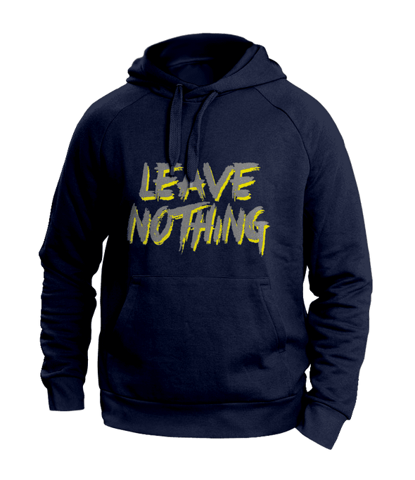 Leave Nothing Blue Hoodies
