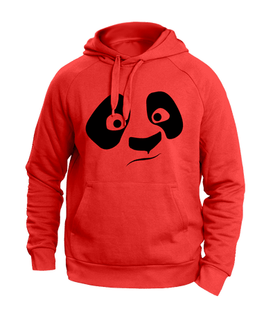 Panda Red Hoodies