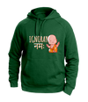 Ignoray Namah Green graphic Hoodies