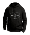 Naukri Black Hoodies