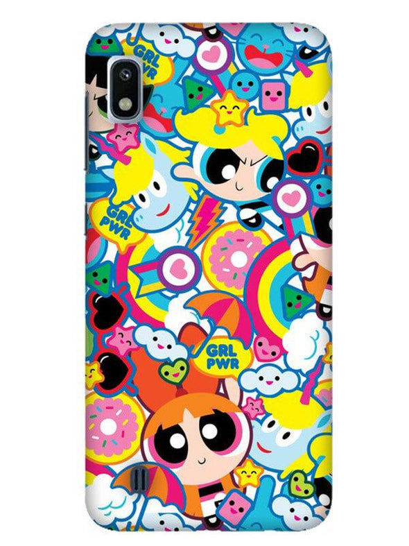 Girl Power Mobile Cover for Galaxy A10