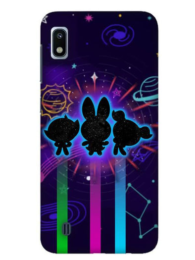 Glow Girls Mobile Cover for Galaxy A10