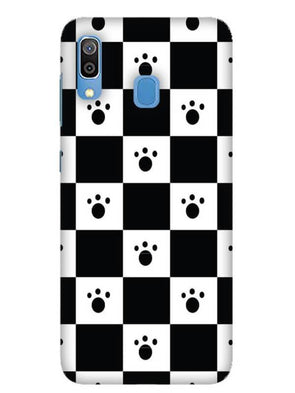 Paw Checkers Mobile Cover for Galaxy A30