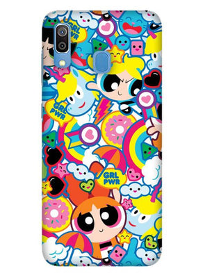 Girl Power Mobile Cover for Galaxy A30