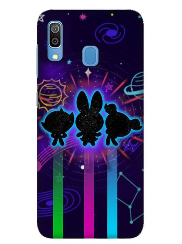 Glow Girls Mobile Cover for Galaxy A30