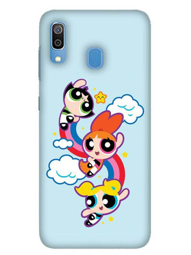 Girls Fun Mobile Cover for Galaxy A30